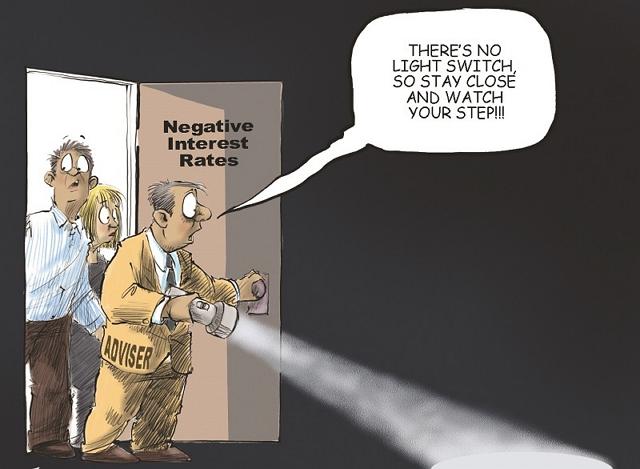 Hoạt động của chính sách lãi suất âm