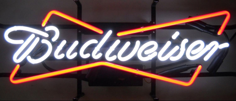 budweiser neon sign traderviet.