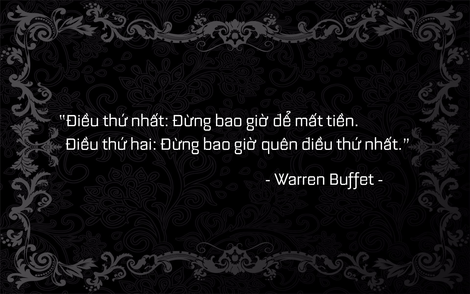 buffet quote 1.