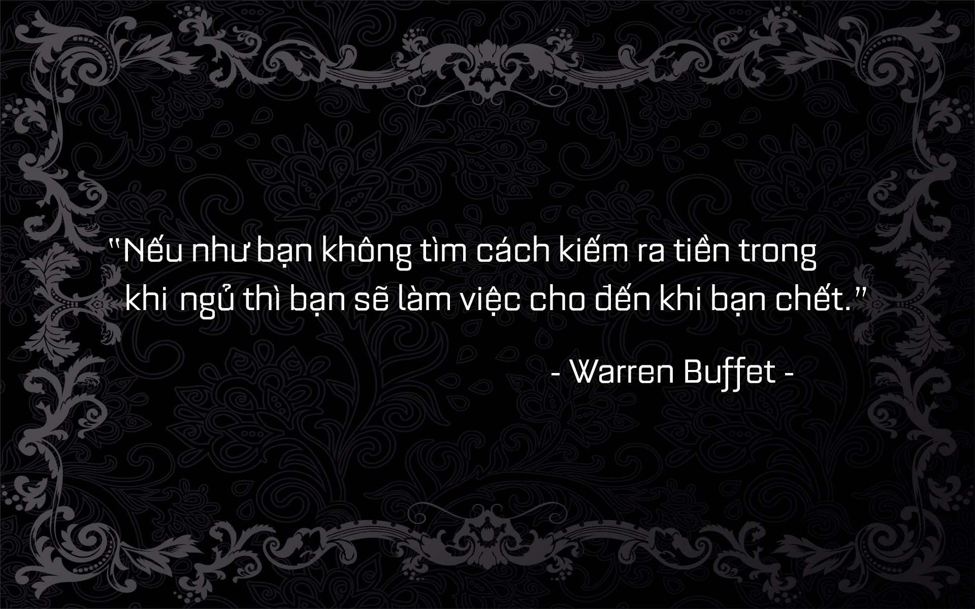 buffet quote 2.