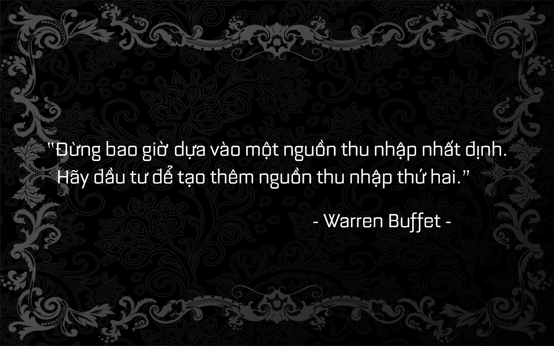 buffet quote 5.