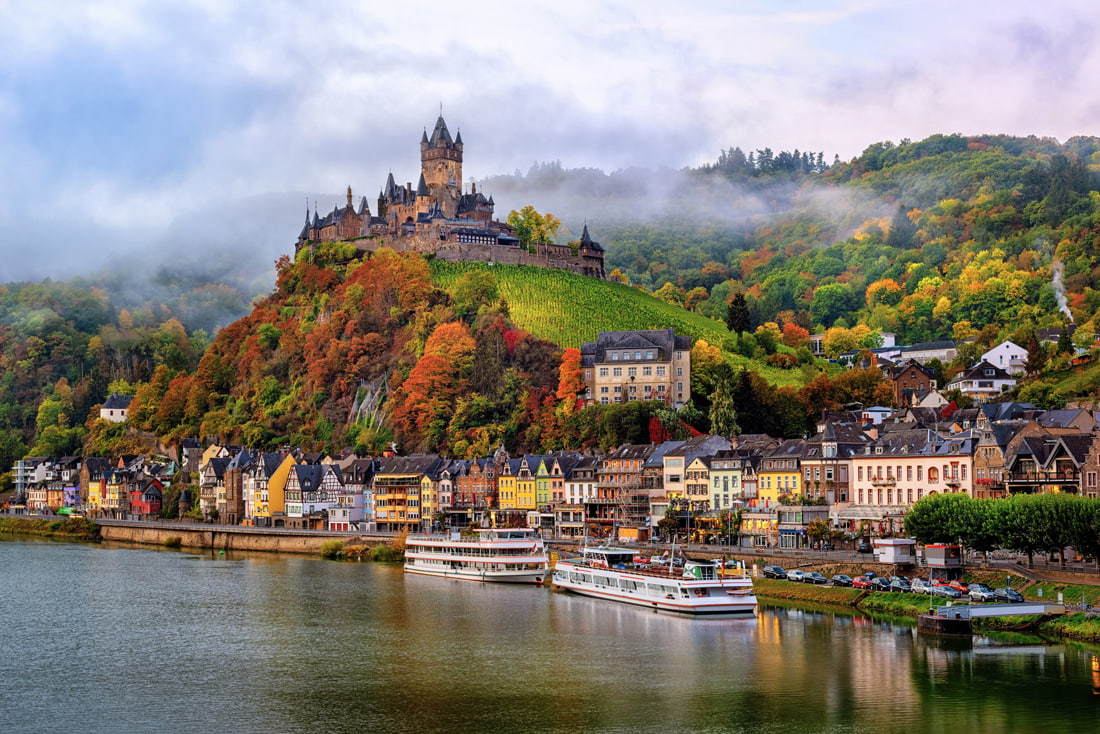 cochem-town-germany.