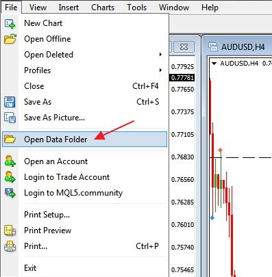 data folder traderviet.