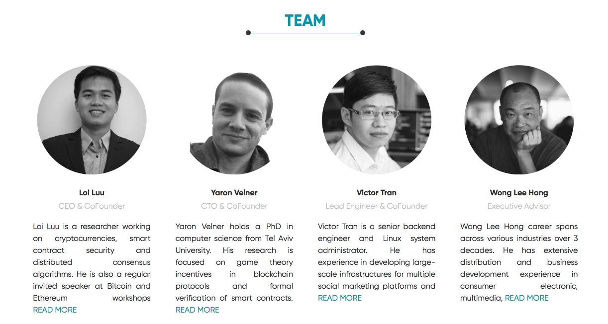Đội ngũ Kyber Network