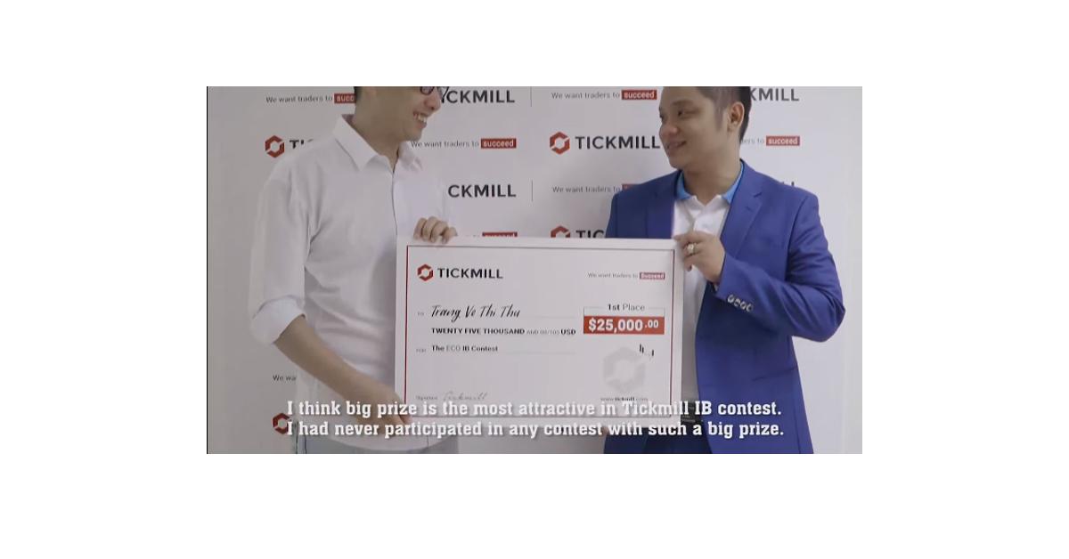 PKTeam tỏa sáng đoạt giải nhất cuộc thi ECO IB Contest thế giới do Tickmill tổ chức