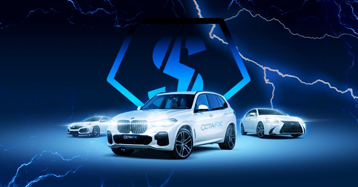 Cuộc thi giao dịch của OctaFX đã kết thúc: 7 chiếc xe hơi được tặng cho những người chiến thắng