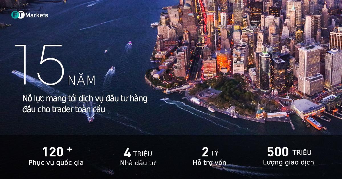 FT Markets nhận giải bạc châu Á Thái Bình Dương và Sàn đầu tư dịch vụ phát triển nhất