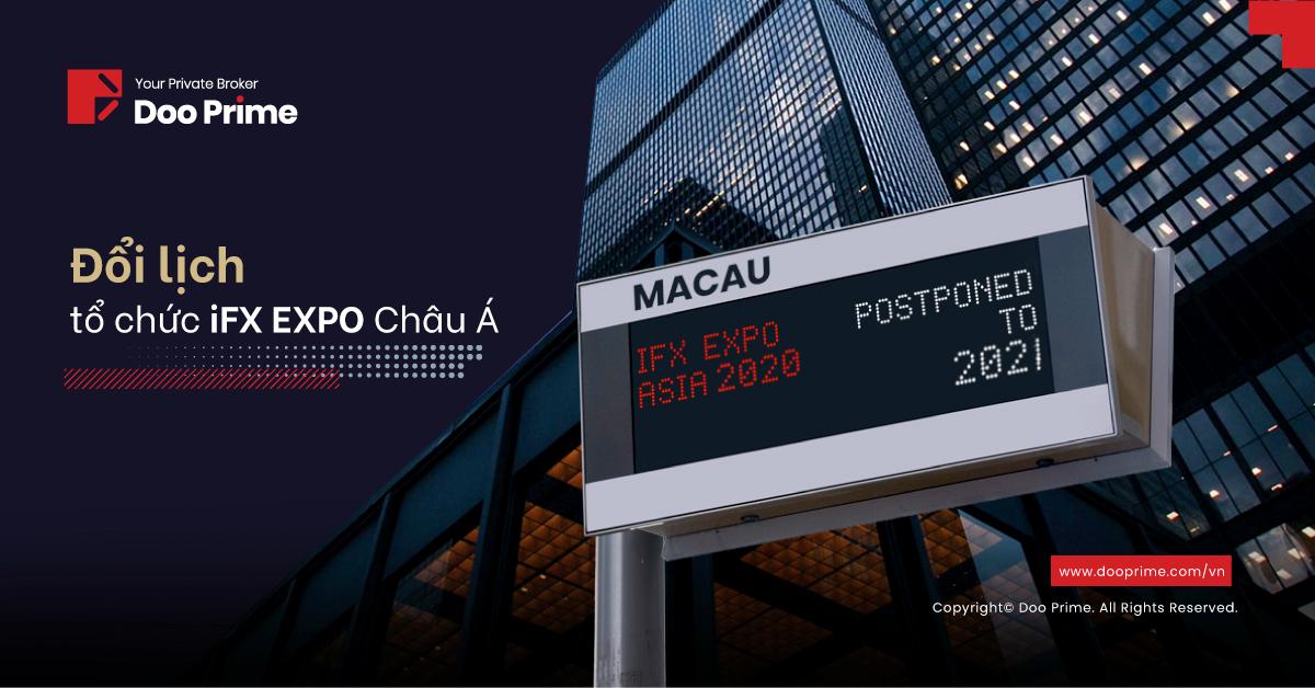 Doo Prime đổi lịch tham gia iFX EXPO Châu Á 2020