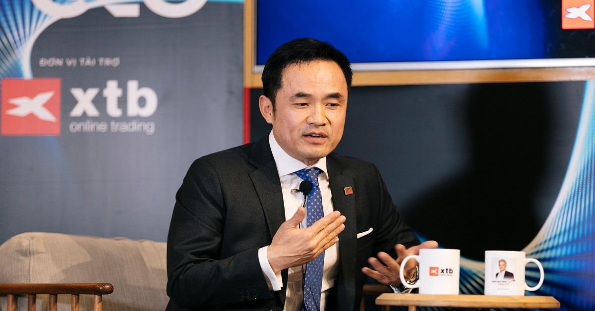 Shark Louis Nguyễn chia sẻ góc nhìn về đầu tư tài chính tại Talk Show XTB Vietnam