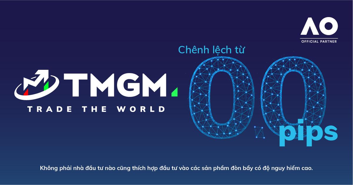 Sàn chuẩn Úc TMGM - nhà tài trợ chính thức cho giải Úc mở rộng, đã chính thức có mặt ở Việt Nam