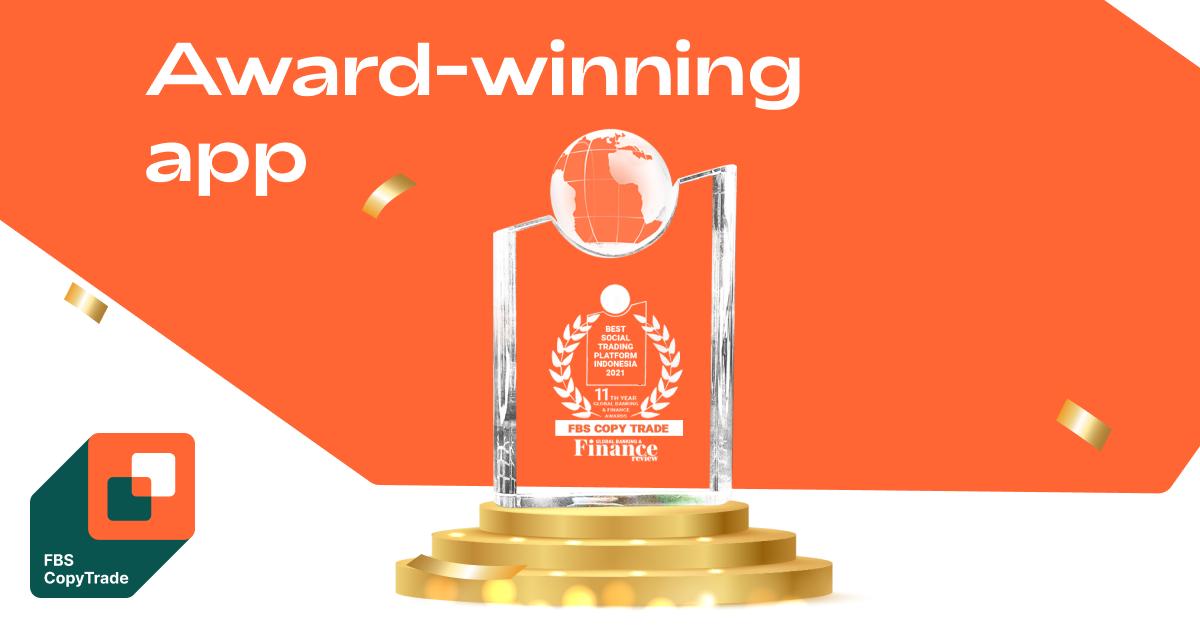 FBS CopyTrade được vinh danh là Best Social Trading Platform Indonesia 2021