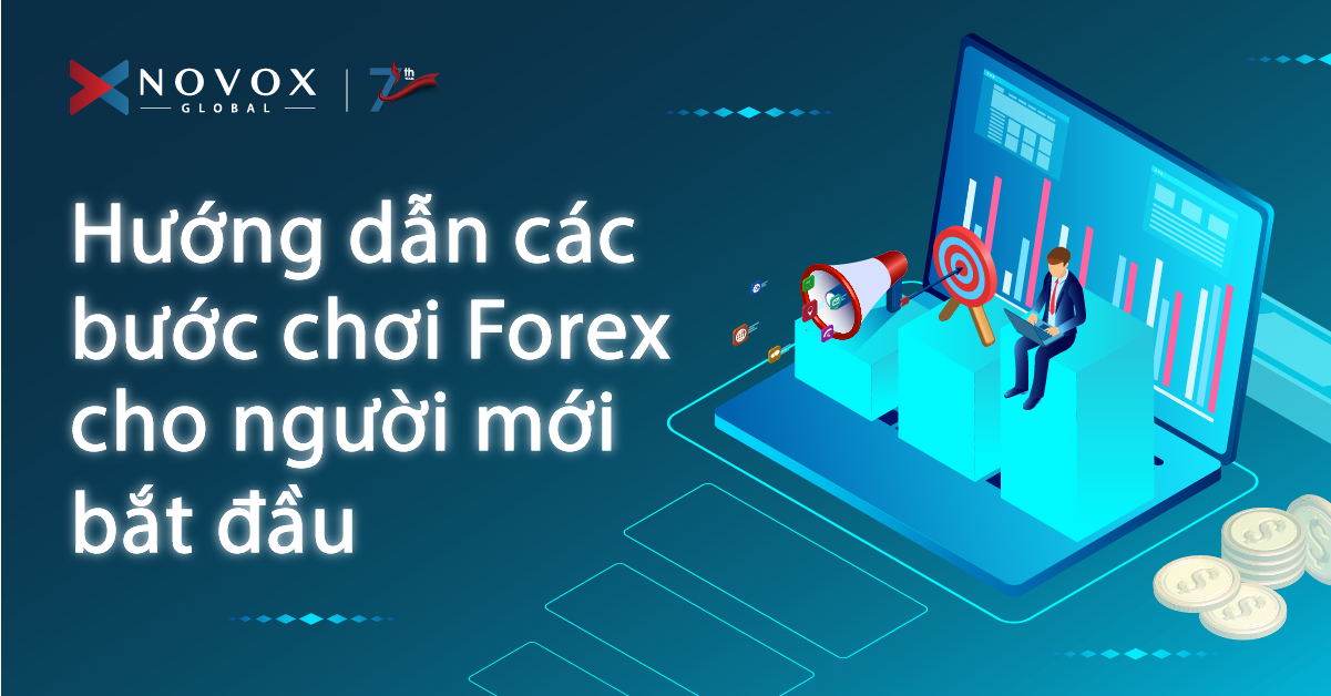 NOVOX FX- Hướng dẫn các bước chơi Forex cho người mới bắt đầu